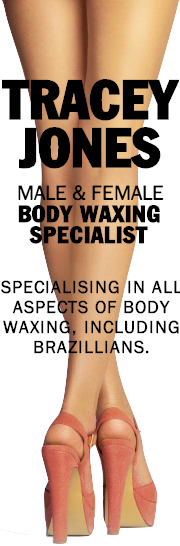Tracey Jones Male and Female Body Waxing